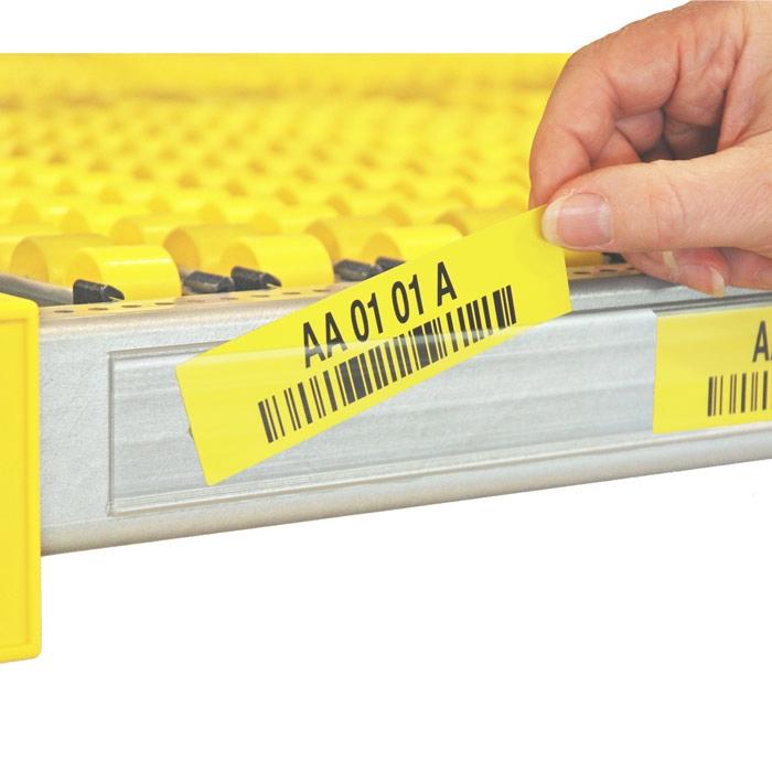 Voorbeeld D1 - etikettenstrips